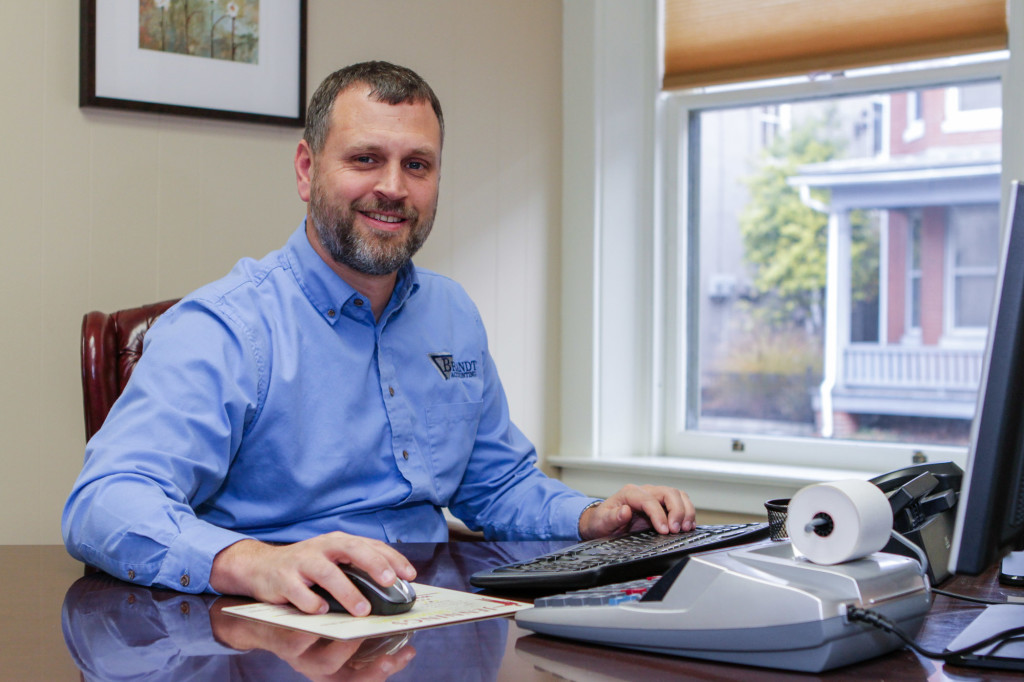 Randy Brandt, CPA, owner of Brandt Accounting